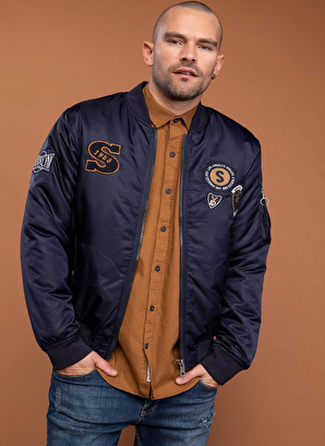 DeFacto Patch Detaylı Slim Fit Bomber Mont